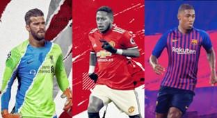 Brazilian players transfer 2018/19