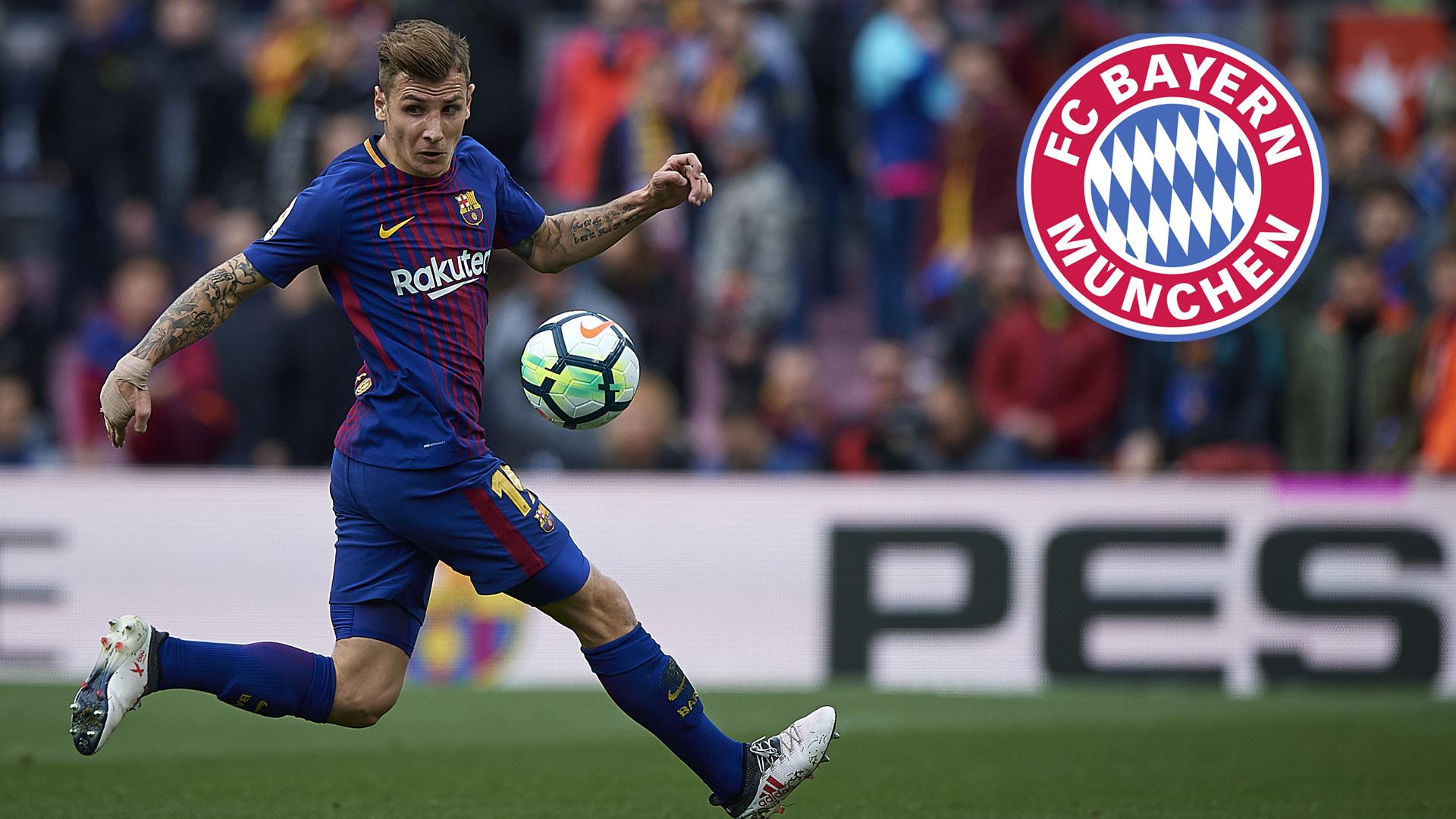 GFX Lucas Digne FC Barcelona FC Bayern München