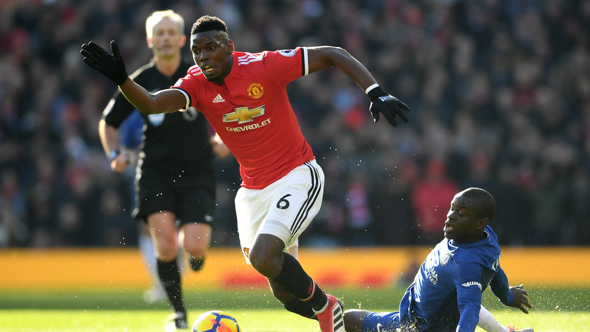 Paul Pogba Manchester United Chelsea