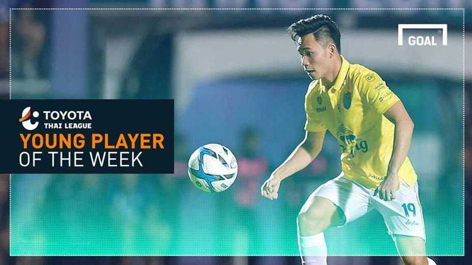 Image result for Toyota Thai League Young Player of the Week 3 : สุภโชค สารชาติ