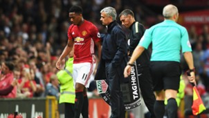 anthony martial jose mourinho premier league manchester united