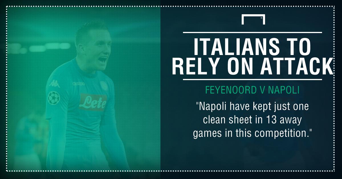 Feyenoord Napoli graphic