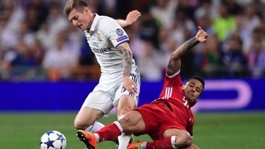 Toni Kross Thiago Alcantara Real Madrid Bayern Munich UCL 18042017