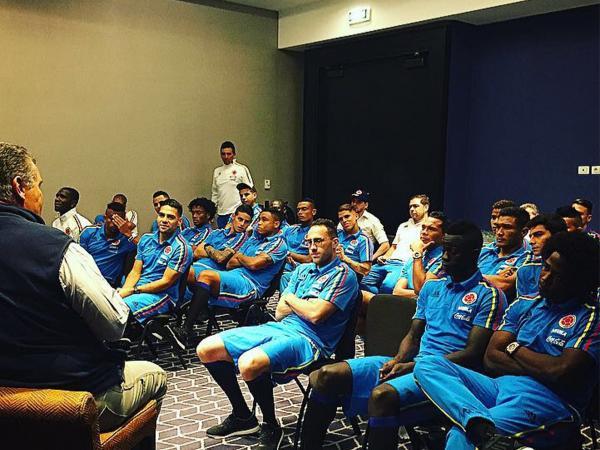Carlos Páez conferencia Selección Colombia