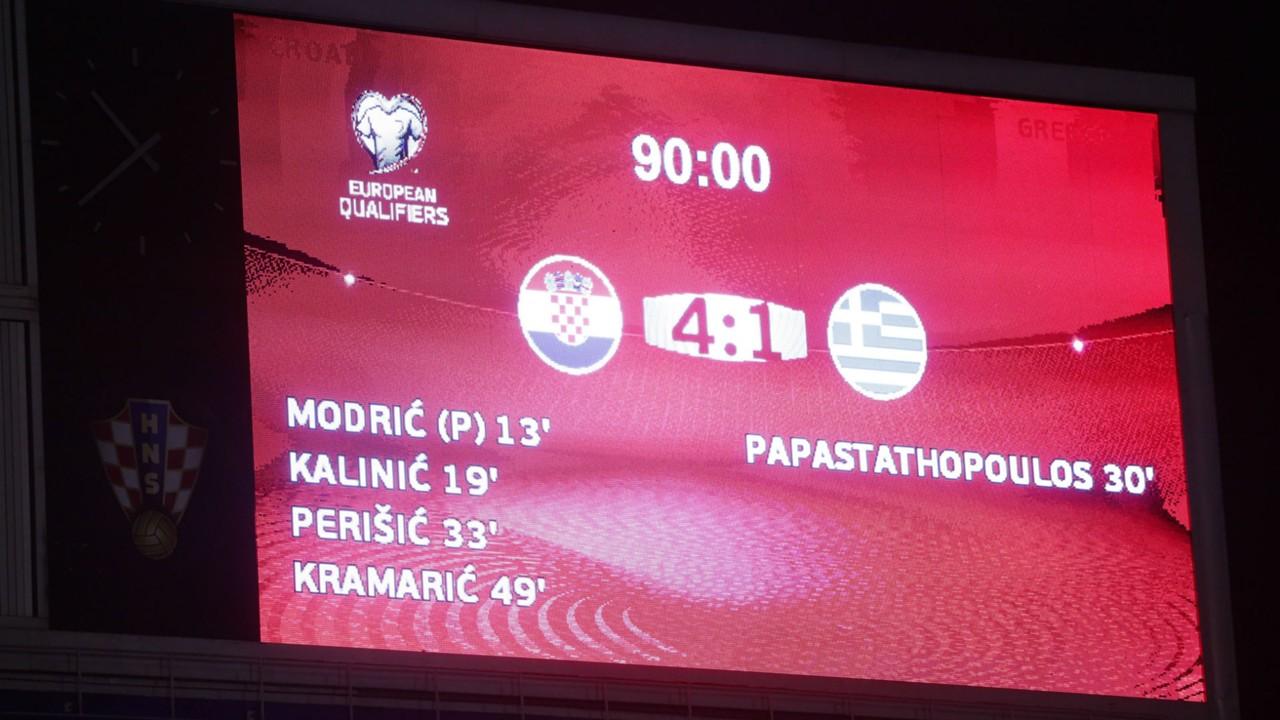 Croatia Greece WC Qualification 09112017