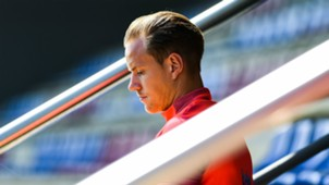 Marc Andre ter Stegen Barcelona training 16052017