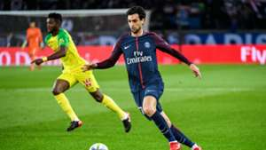 Pastore PSG Nantes Ligue 1