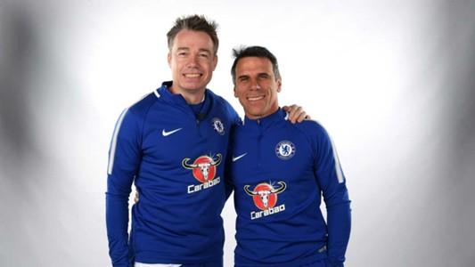 Chelsea legends versus Inter Forever