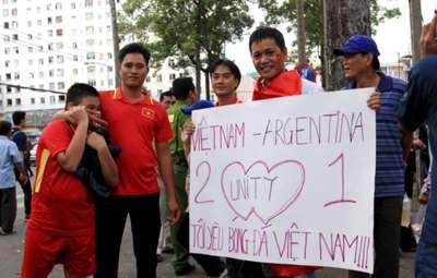 Chùm ảnh trước trận U20 Việt Nam - U20 Argentina 10/5