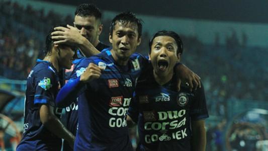 Arif Suyono & Ahmad Bustomi - Arema FC
