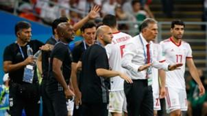 Iran bench vs Portugal World Cup
