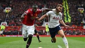 Eric Bailly Jan Vertonghen Manchester United Tottenham Premier League