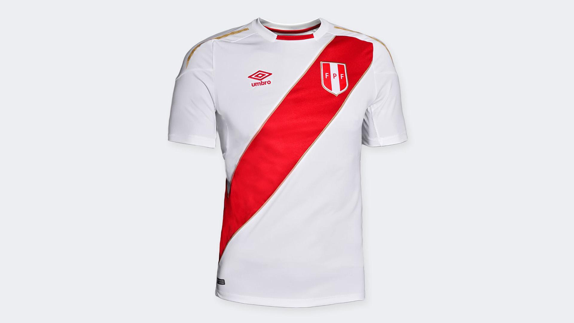 Peru Camiseta Titular Home Jersey 2018