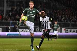 Robert Beric Angers Saint-Etienne