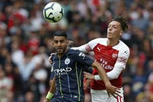 Mahrez Arsenal Manchester city