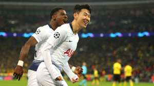 Son Heung-Min Tottenham Borussia Dortmund Champions League 12022019