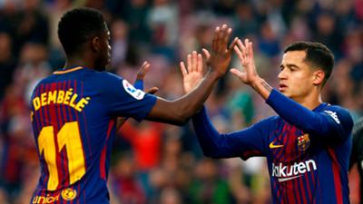 Dembele Coutinho Barcelona 2018-19
