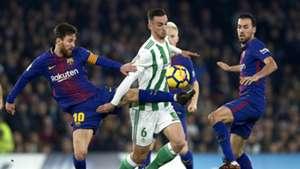 Fabian Ruiz, Real Betis vs Barcelona, 17/18