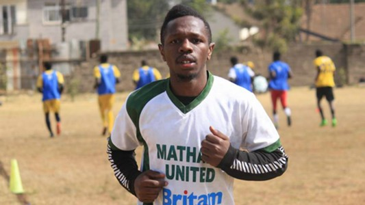 Mathare United star Edward Seda