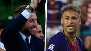 Sergio Ramos Neymar