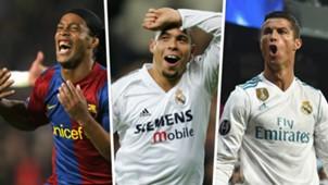 Ronaldinho Ronaldo Cristiano Ronaldo Split