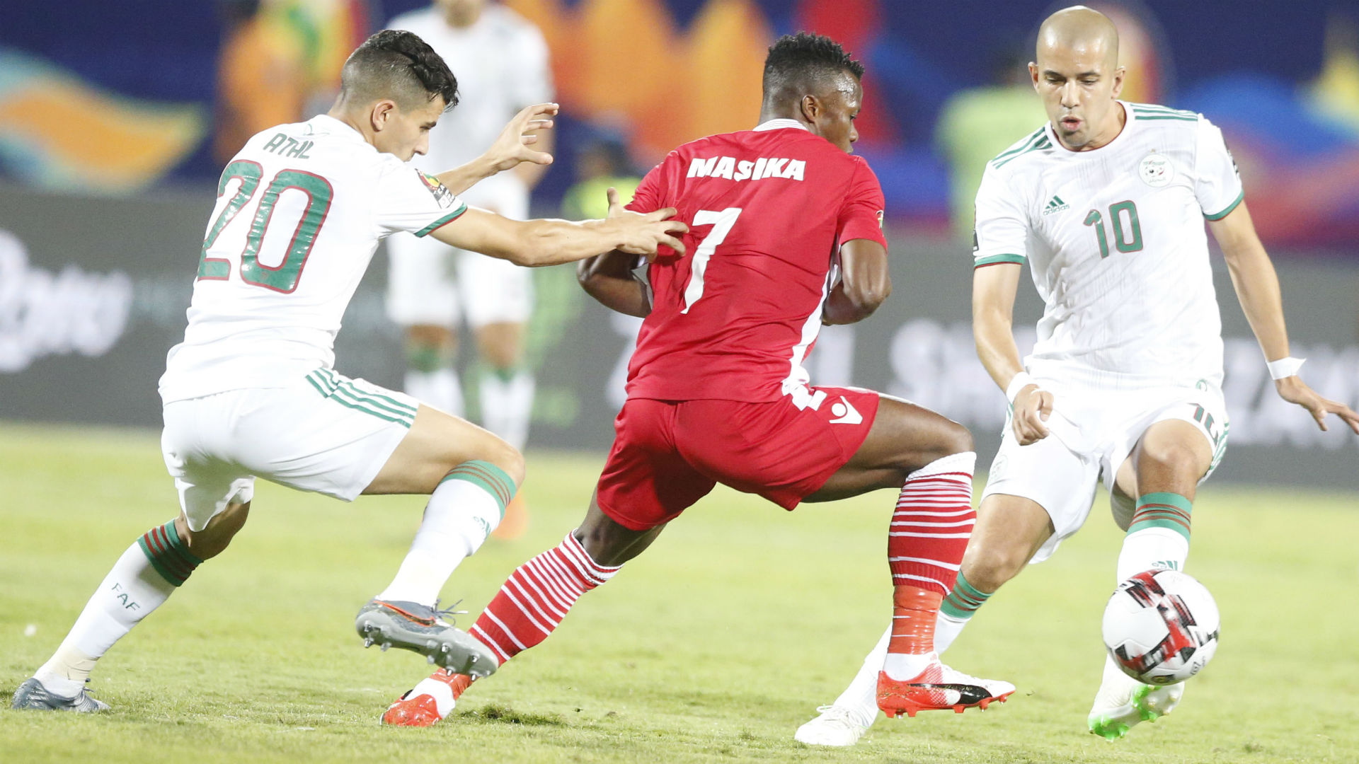Image result for harambee stars and algeria