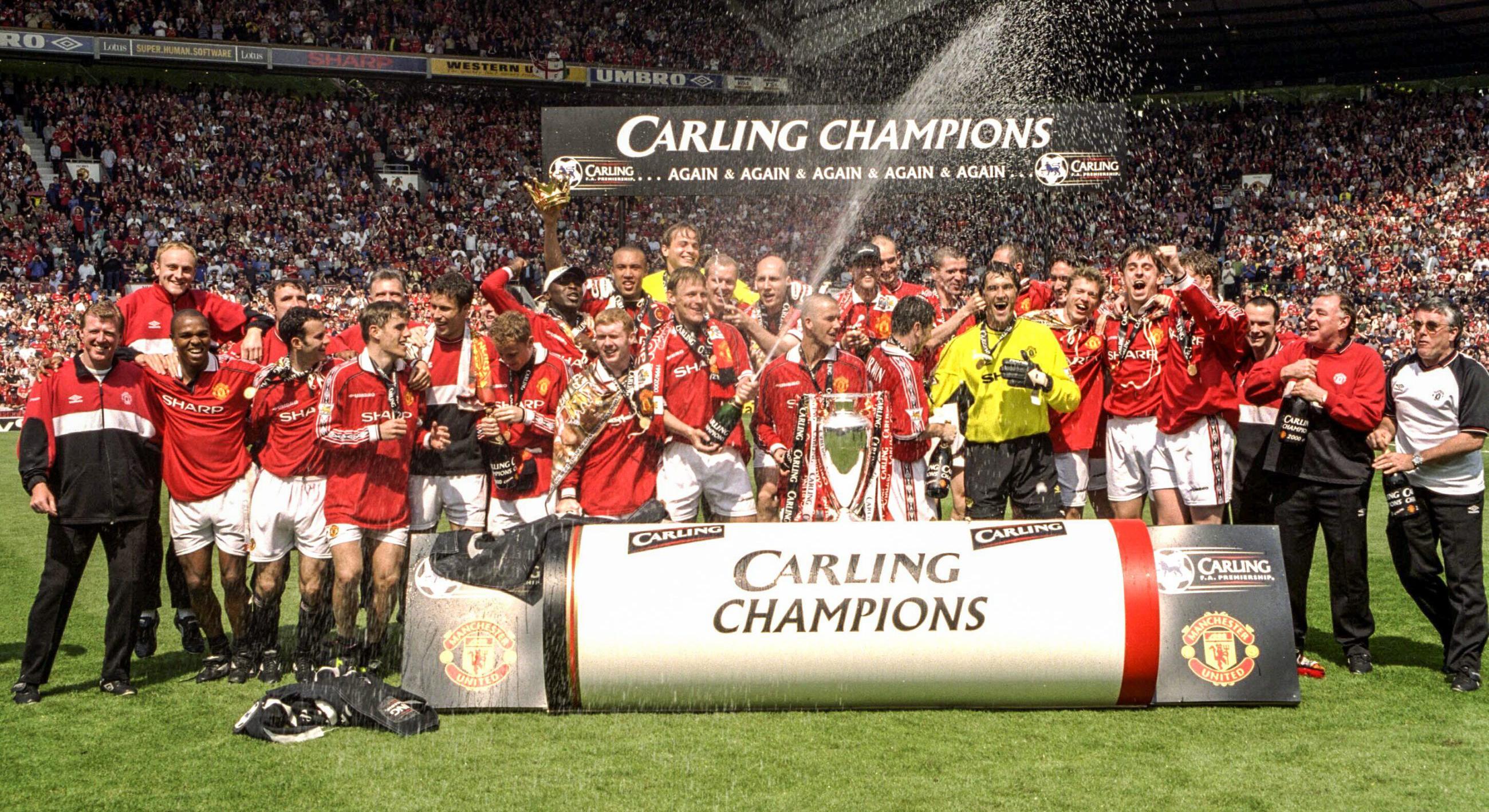 Manchester United Premier League 1999/00