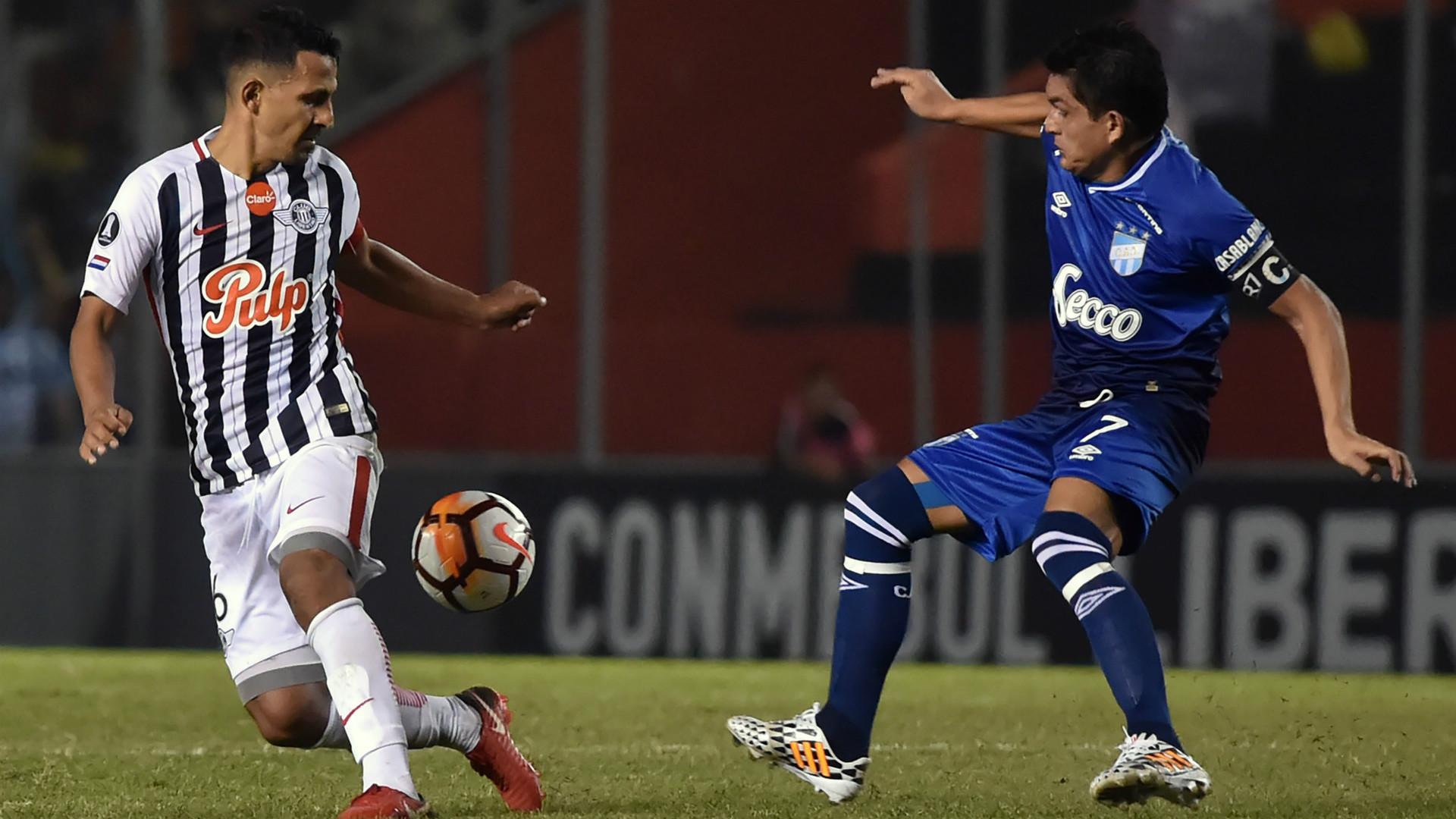 Sergio Aquino Luis Rodriguez Libertad Atletico Tucuman Copa Libertadores 2018