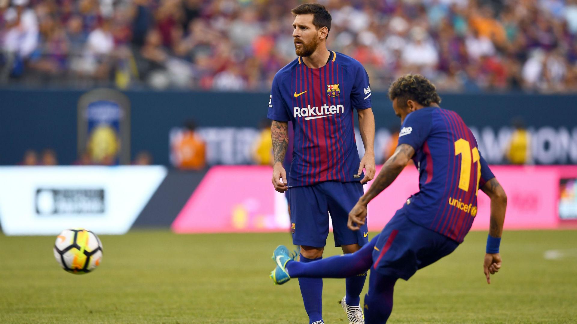 Lionel Messi Neymar Barcelona ICC