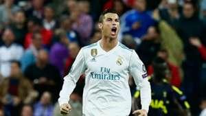 Cristiano Ronaldo Real Madrid Tottenham 17102017