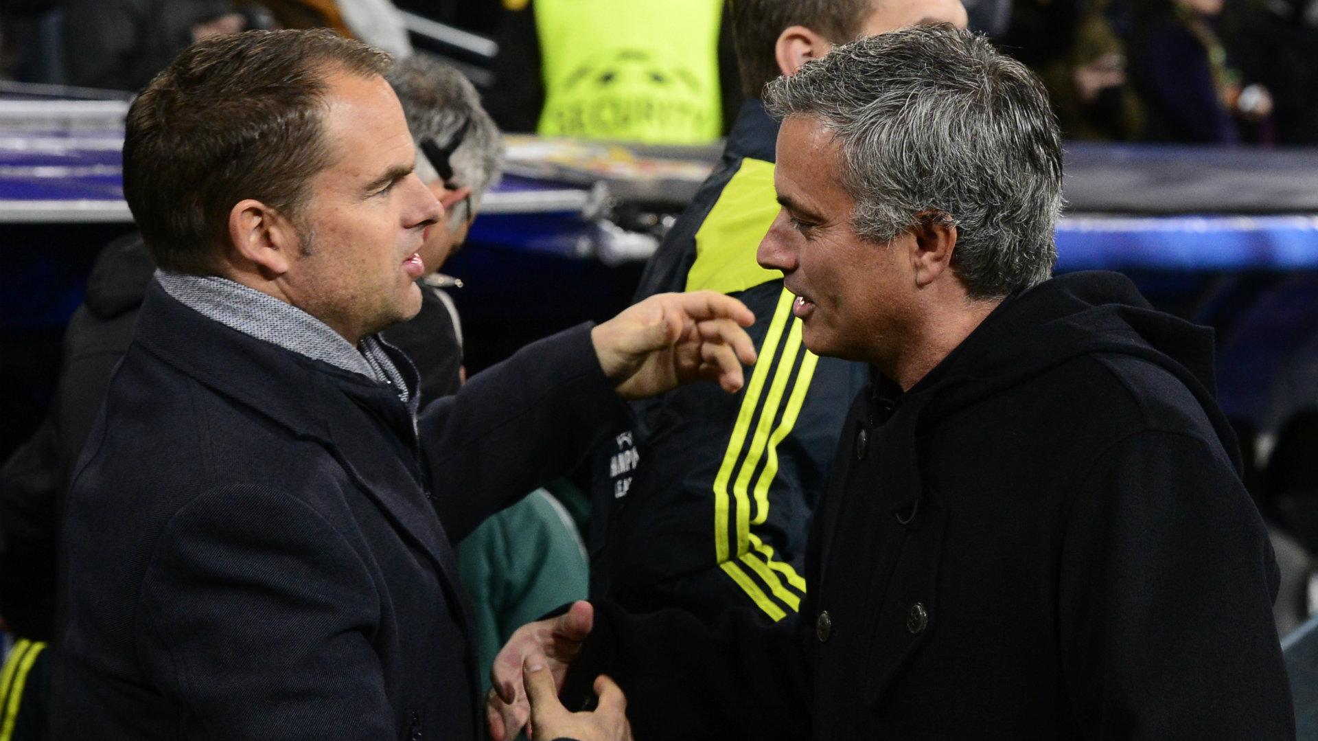 Mourinho lancia la bordata a de Boer: