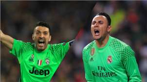 Buffon vs Navas