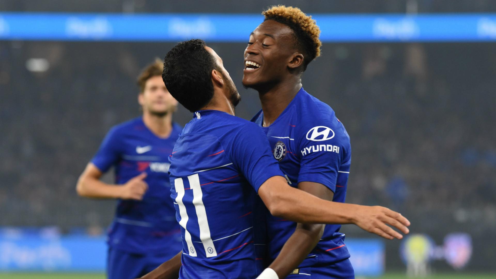 Pedro/Hudson-Odoi Chelsea 2018