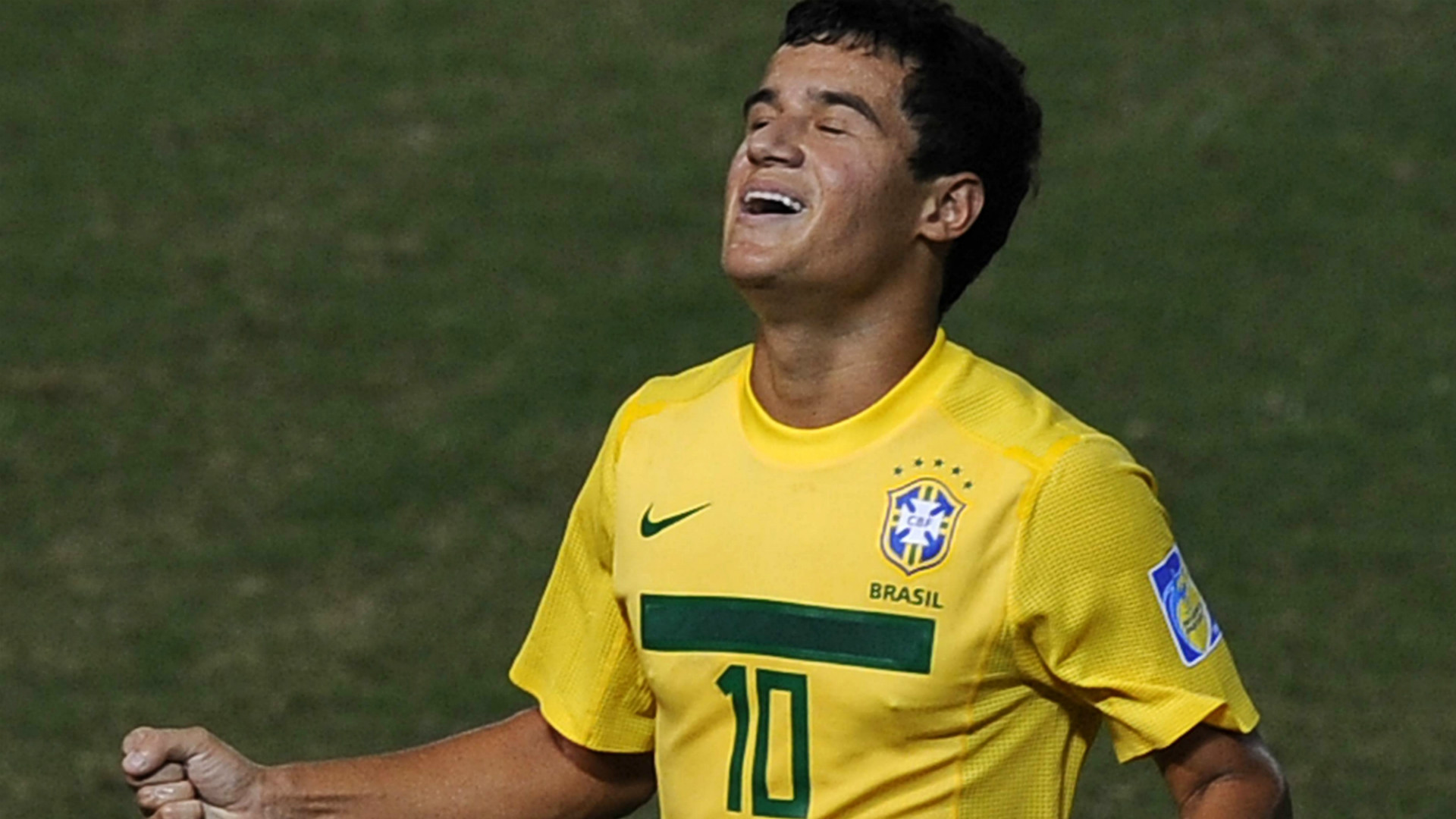 Philippe Coutinho Brazil 04082011