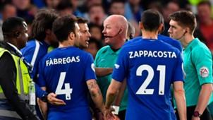 Chelsea Huddersfield ref