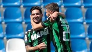 Matteo Politano, Domenico Berardi, Sassuolo, Serie A, 05212017