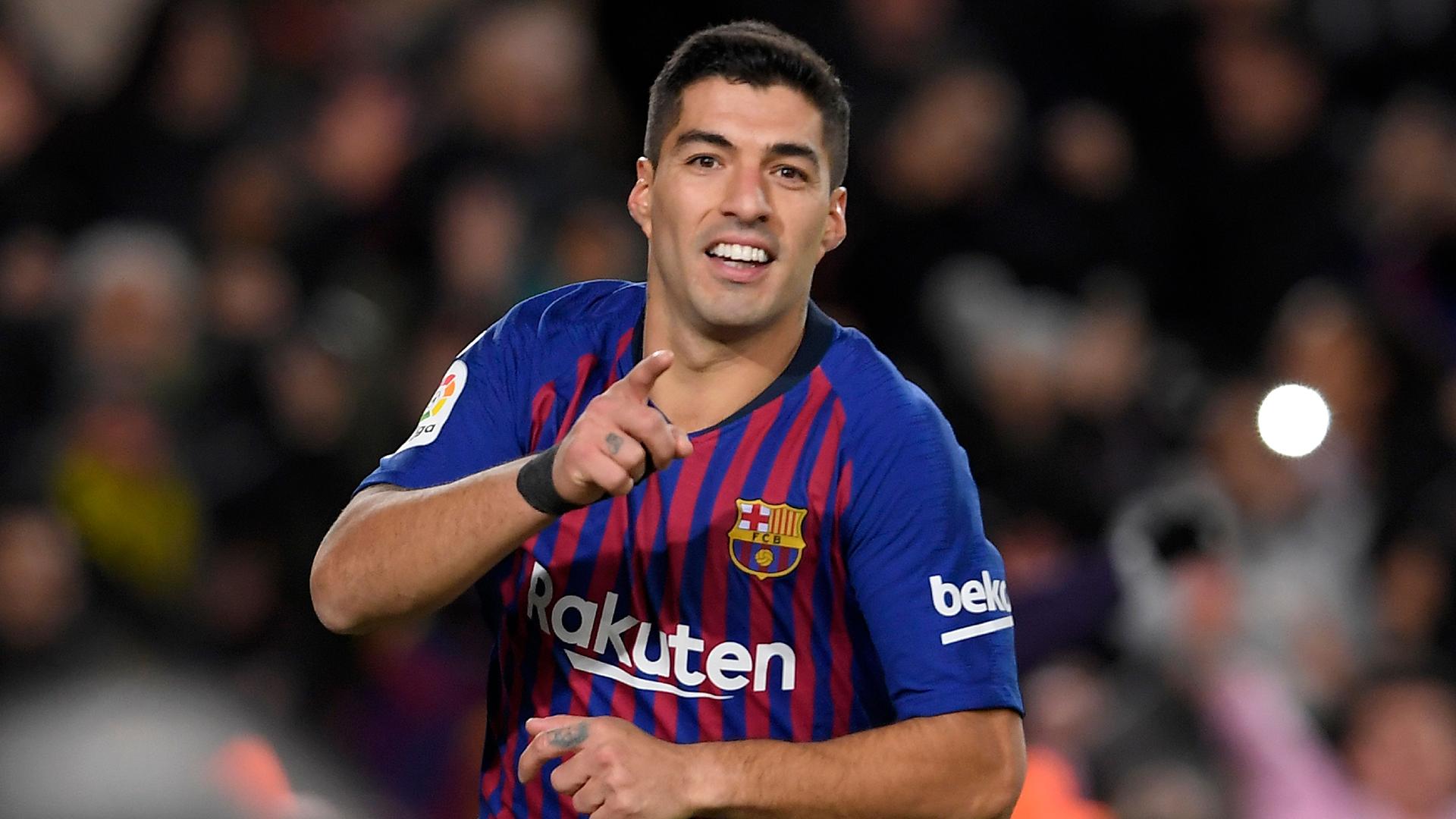 Luis Suarea Barcelona La Liga 2018-19