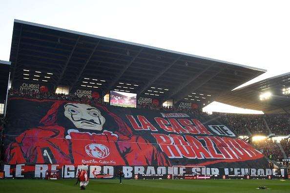 Rennes RCK tifo