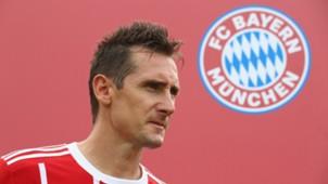 Miroslav Klose FC Bayern 26072017