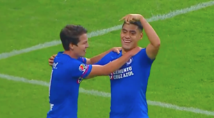 130118 Goal Felipe Mora Cruz Azul Chivas
