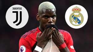Paul Pogba Juventus Real Madrid GFX