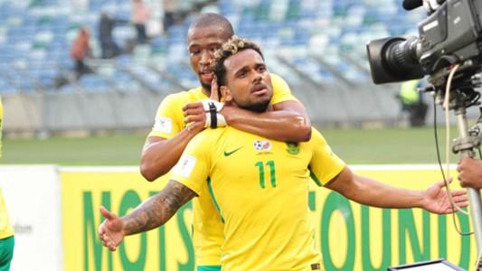 Kermit Erasmus and Kamohelo Mokotjo - Bafana Bafana