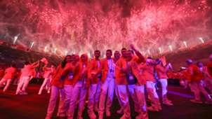 Kontingen Indonesia - Asian Games 2018 - Opening Ceremony