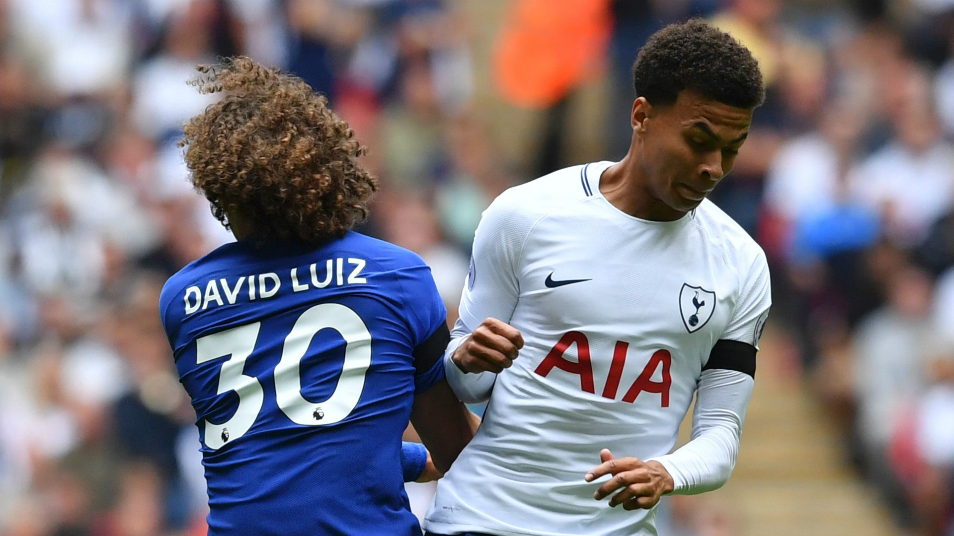David Luiz Dele Alli Chelsea Tottenham