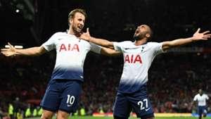 Harry Kane Lucas Moura Tottenham 2018