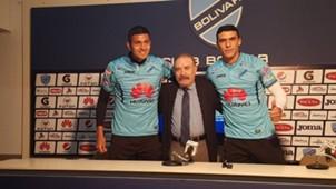 Pablo Pedraza y Jefferson Moreira