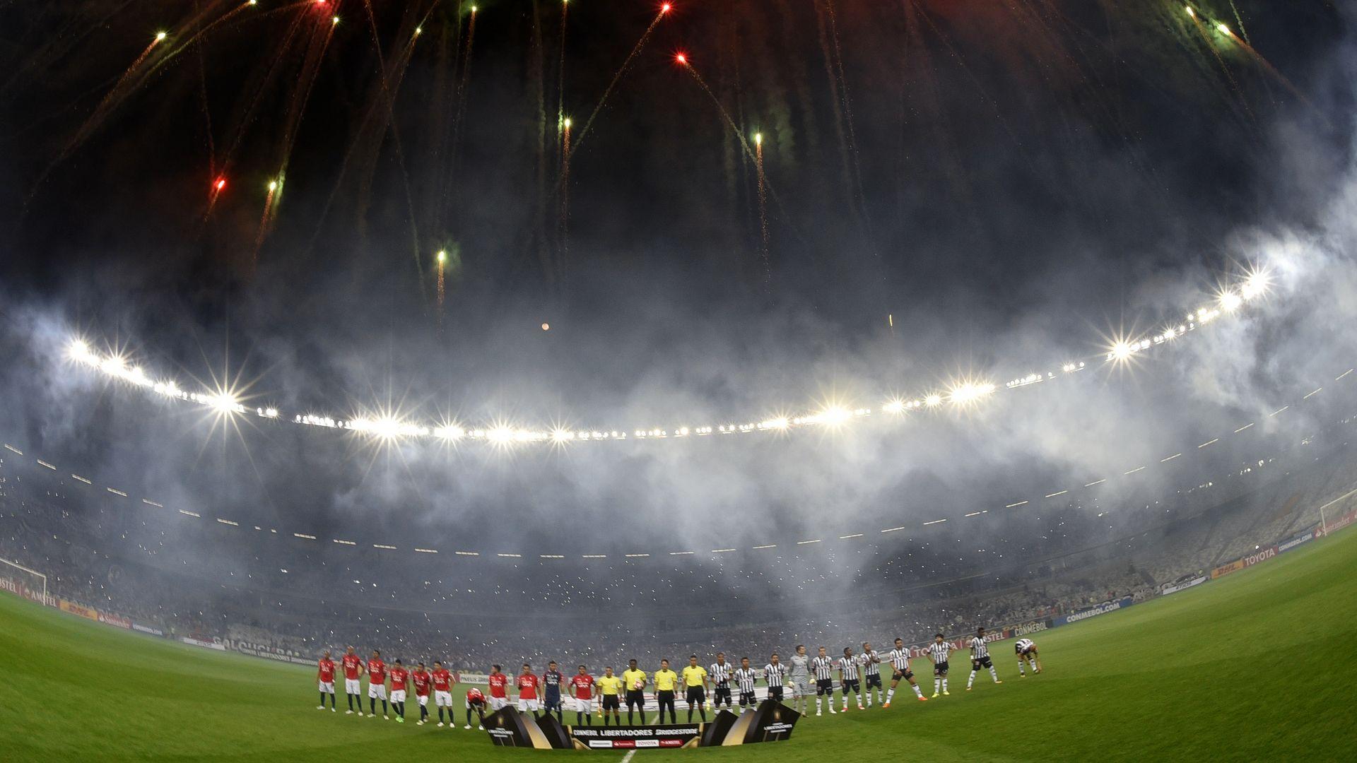 Estadio Mineirao Atletico-MG Jorge Wilstermann Libertadores 09082017