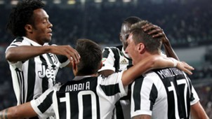 Juventus celebrating Juvenus Fiorentina Serie A