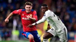 Vinicius Junior Kirill Nababkin Real Madrid CSKA UCL 12122018