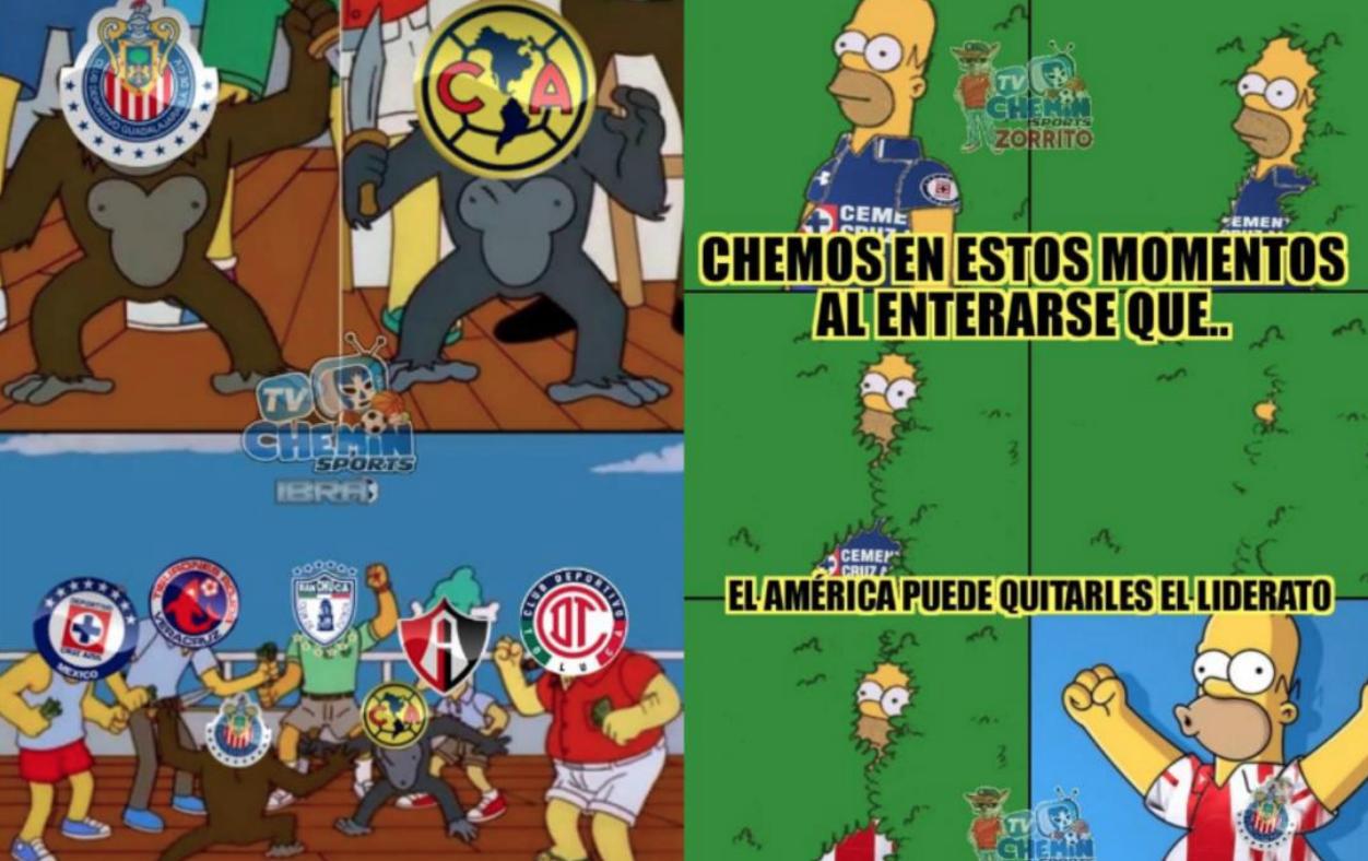 Memes América vs Chivas 300918